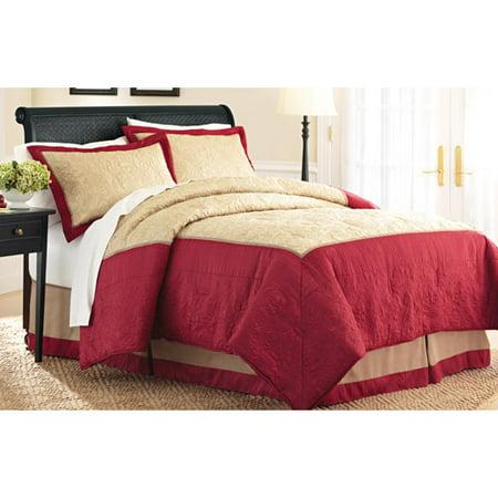 Better homes and gardens paisley comforter set red and - Better homes and gardens comforter sets ...
