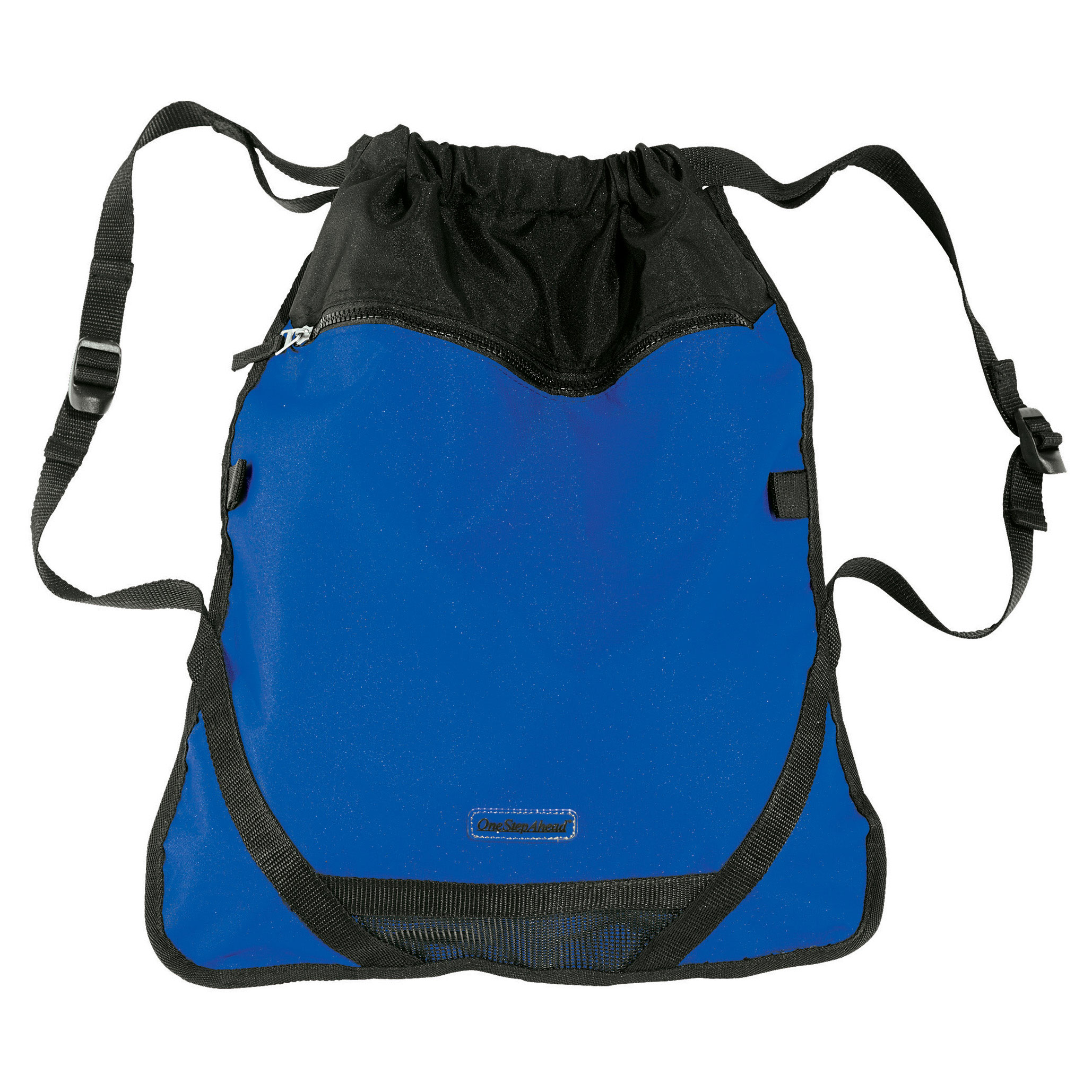 One Step Ahead Children's Blue Athletic Backpack - Lightweight Drawstring Bag