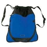 Children's Blue Athletic Backpack - Lightweight Drawstring Bag