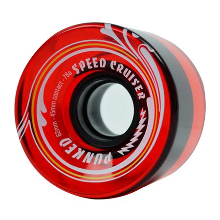 Speed Cruiser Speed Cruiser 62mm Longboard Wheels - Gel (Best Longboard Wheels For Speed)