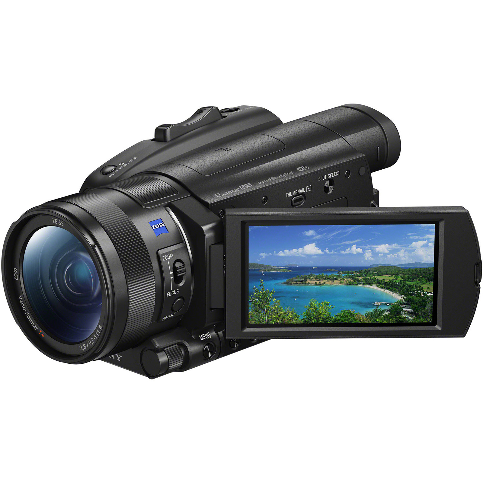 Sony Handycam FDR-AX700 4K HD Video Camera Camcorder by Sony