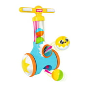 Tomy Toomies Pic N Pop Ball Blaster, Toddler Walk-Behind Toy Launches Colorful Balls, 6 Pieces