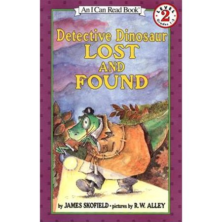 Detective Dinosaur Lost and Found - Reading Detective