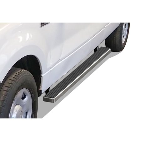 Ford Running Boards (iBoard Running Board For Ford F-150 Extended Cab 2 Full + 2 Suicide)