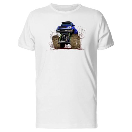 Purple Monster Truck Tee Men's -Image by Shutterstock