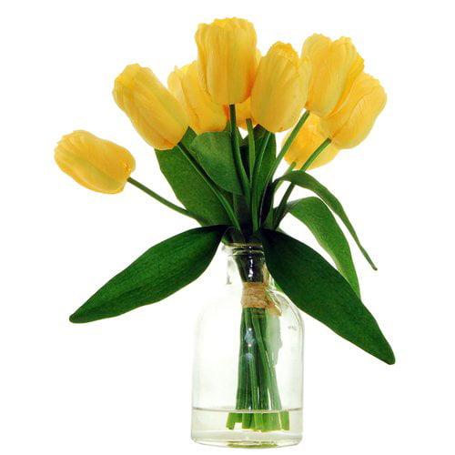 Charlton Home Tulips Floral Arrangement