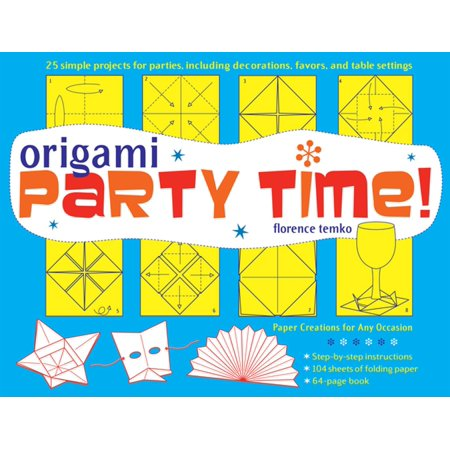 Party Origami (Origami Party Time! Ebook - eBook)