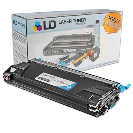LD Compatible Cyan Laser Toner Cartridge for Lexmark C734A1CG