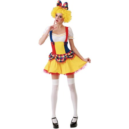 Cutie Clown Adult Costume - Large