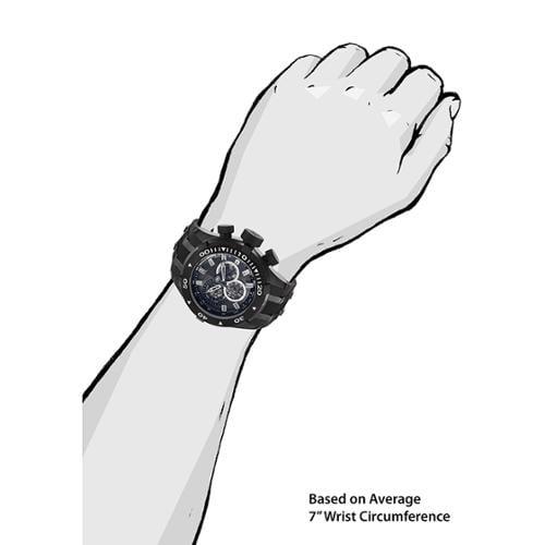 Invicta Reserve Bolt II Charcoal Dial Chronograph Mens Wa...