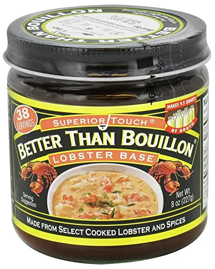 Better Than Bouillon Lobster Base 8 oz.(pack of 2) by Better Than Bouillon