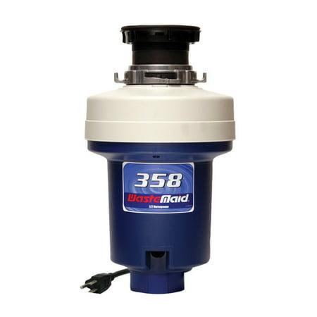 Waste Maid WM-358 1/2 HP Heavy-Duty Disposer (Heavy Duty Garbage Disposal)