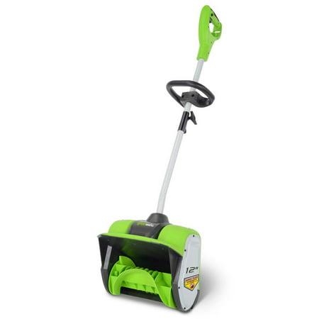 - Greenworks 12-Inch 8 Amp Corded Snow Shovel 2600802