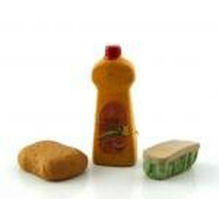 Dollhouse Miniature Set of 3 Cleaning Supplies - image 1 de 3