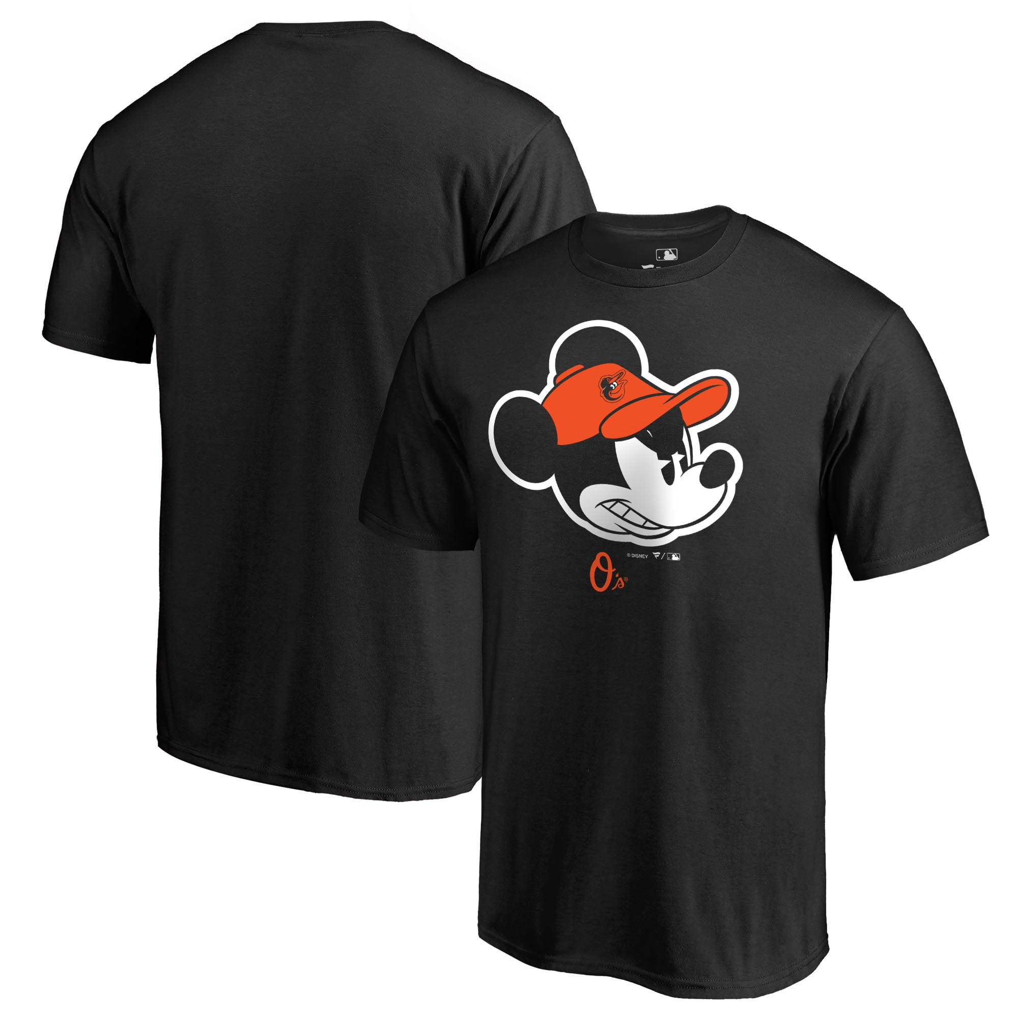 Baltimore Orioles Fanatics Branded Disney Game Face T-Shirt - Black