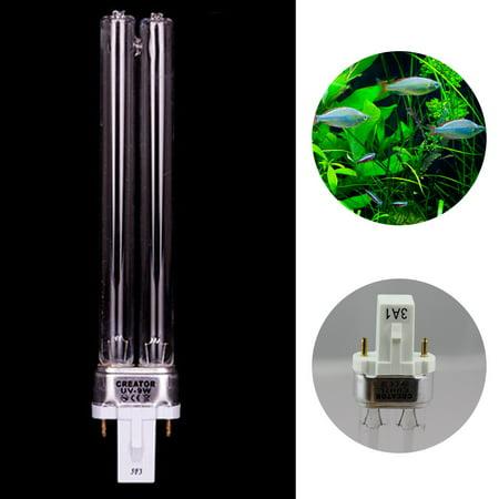 Moaere 9W Aquarium Fish Tank Germicidal Lamp UV Sterilizer Canister Filter