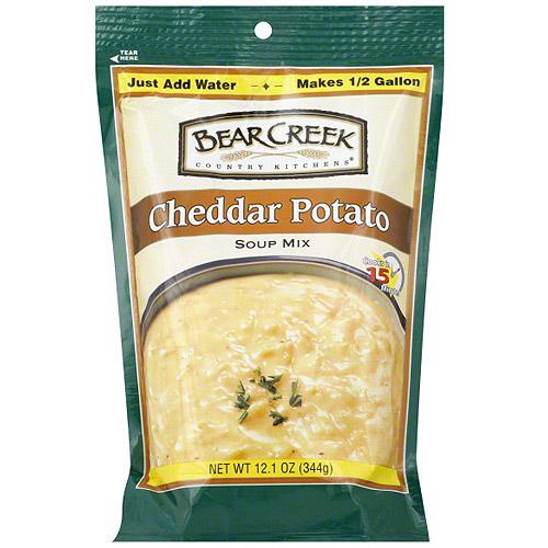 Bear Creek Cheddar Potato Soup Mix, 12.1 oz (Pack of 6)