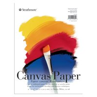 Strathmore Canvas Paper Pad, 200 Series, 9in x 12in