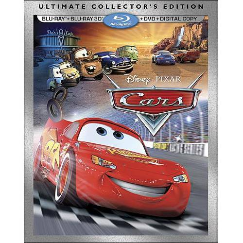 Cars 3D Ultimate Collector's Edition (3D Blu-ray   Blu-ray   DVD   Digital Copy) (Widescreen)
