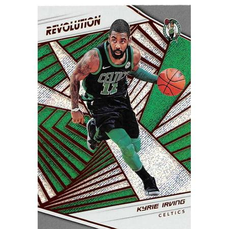 2018-19 Panini Revolution #32 Kyrie Irving Boston Celtics Basketball - Kyrie Irving Birthday Party
