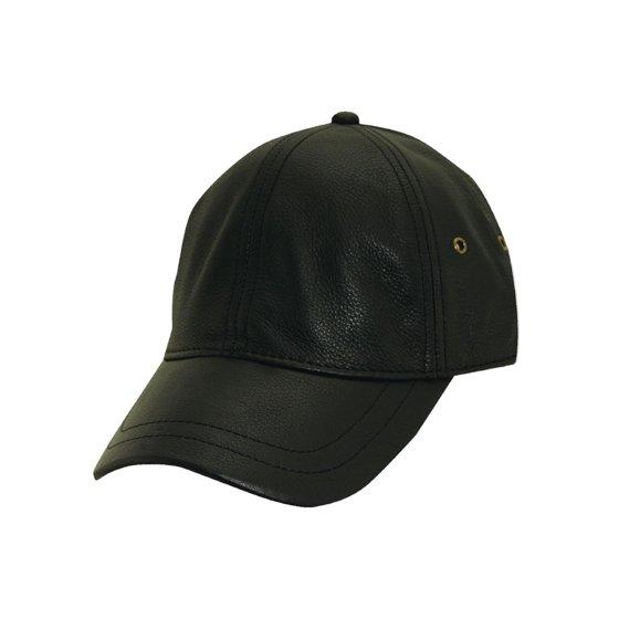 45ca3eb9b416f Stetson - Men s STW510 Leather Baseball Cap - Walmart.com