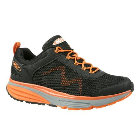 b37ee5724529 MBT - MBT Shoes Men s Colorado 17 Lace UP Athletic Shoe  10 Medium (D) Black  Orange Lace - Walmart.com