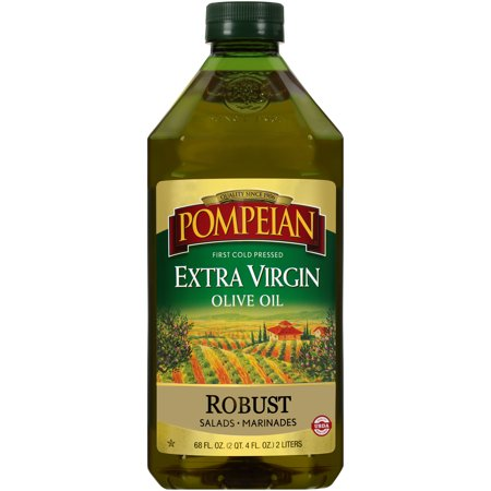 Pompeian Robust Extra Virgin Olive Oil 68 Fl Oz