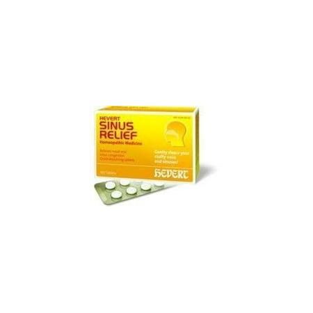 hevert pharmaceuticals, hevert sinus relief 100