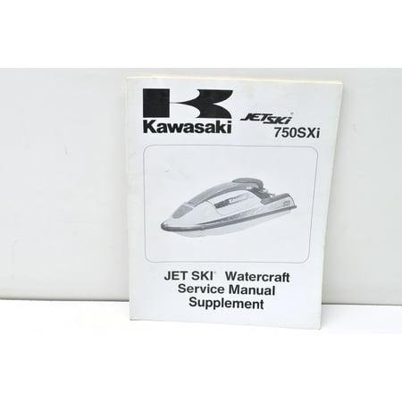 Kawasaki 99924-1189-51 1995 750SXi Jet Ski Service Manual QTY 1