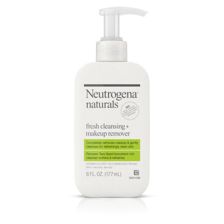Neutrogena Naturals Fresh Face Cleanser + Makeup Remover, 6 fl.