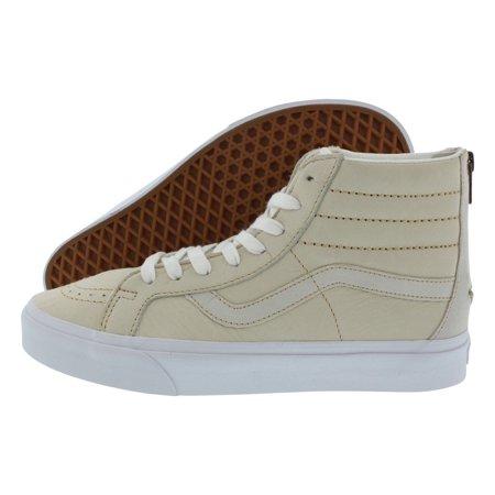 49a8e6fd441f23 Vans - Mens Vans SK8-Hi Reissue Zip Premium Leather White VN0A33T9MXL -  Walmart.com