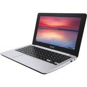 "ASUS Chromebook C200MA-EDU, 2.16 GHz Intel Celeron, 2GB DDR3 RAM, 16GB SSD Hard Drive, Chrome, 11"" Screen (Refurbished Grade B)"