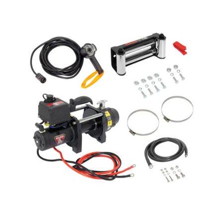 Bulldog Trailer Dc Electric Heavy Duty Winch Dc6000  6000 Lbs  500403