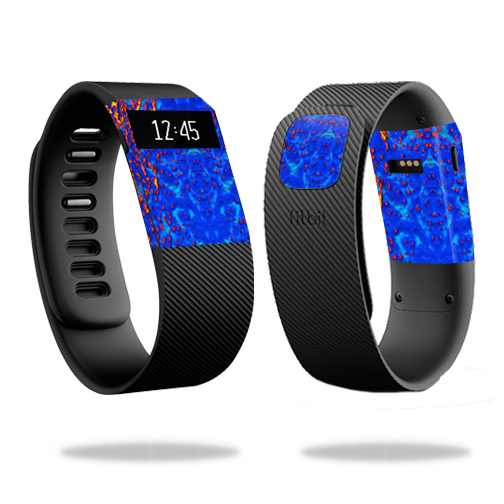 Skin Decal Wrap for Fitbit Charge cover skins sticker watch Melting