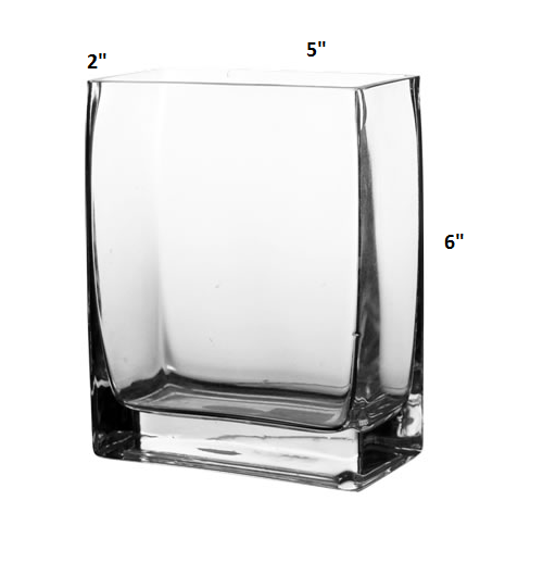4 Quot X 12 Quot Clear Glass Cylinder Vase 1 Home Garden Decor Vases