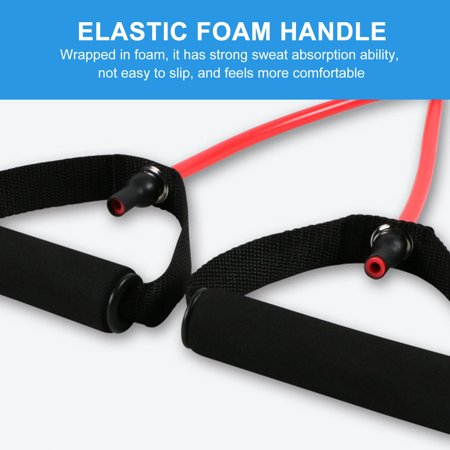 Fitness Exercise Cords Pull Rope Stretch Resistance Bands Elastic Yoga Rope - image 7 of 9