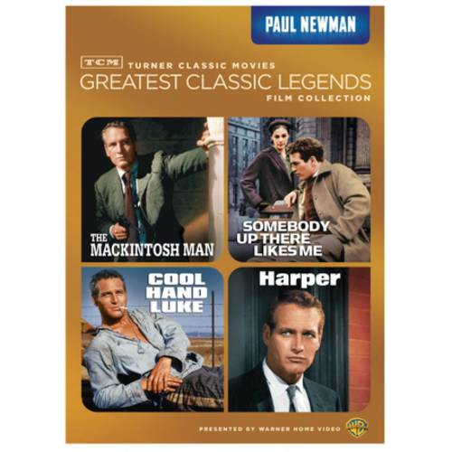 TCM Greatest Classic Legends Film Collection: Paul Newman - The Mackintosh Man / Somebody Up There Likes Me / Cool Hand Luke / Harper