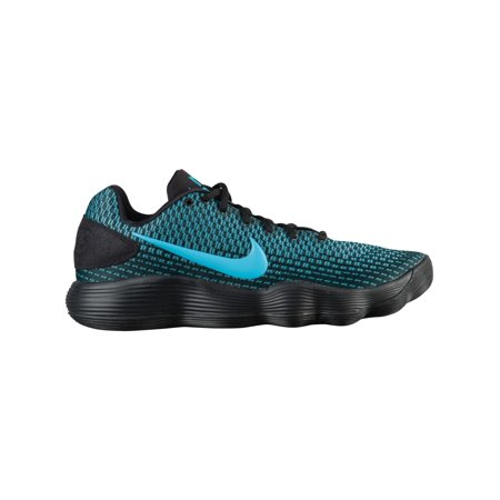 Nike React Hyperdunk 2017 Low Men's Basketball Shoes Black/Chlorine Blue -  Walmart.com