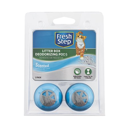 Litter Box Freshener - Fresh Step, Fresh Scent Cat Litter Box Deodorizing Pods