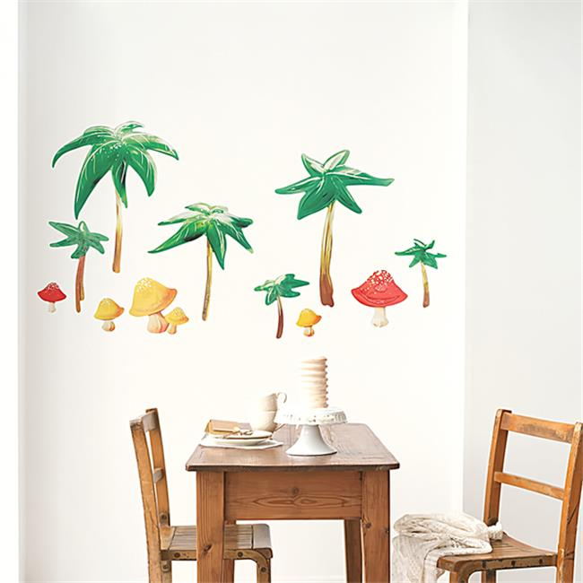 Summer Vacation - Wall Decals Stickers Appliques Home Decor