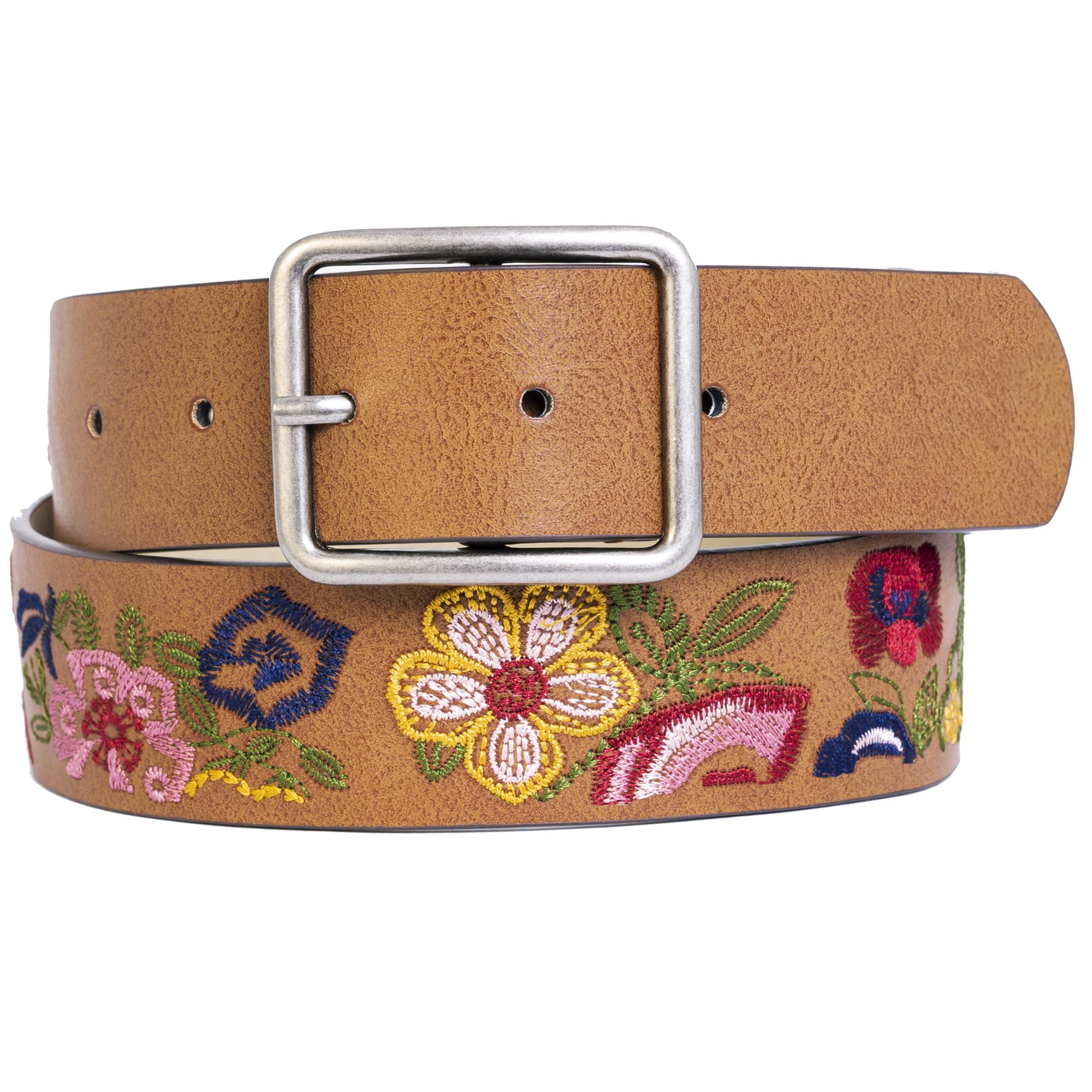 Time And Tru Floral Embroidery