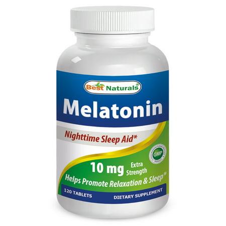 Best Naturals Melatonin 10 mg 120 Tablets