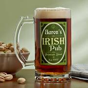 Personalized Premium Clover Pub Beer Mug, 16 oz
