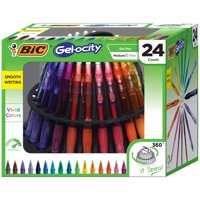 Deals on 24-Count BIC Gel-ocity Original Retractable Gel Pen Spinner