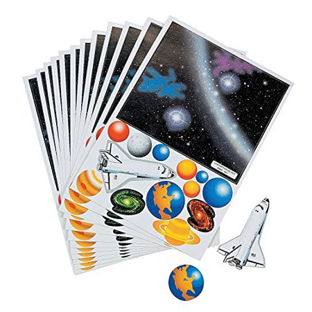 Solar System Stickers (Fun Express Make Your Own Solar System Sticker (1)