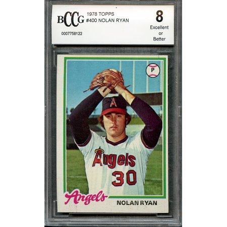 1978 topps #400 NOLAN RYAN california angels BGS BCCG - 1978 California Angels