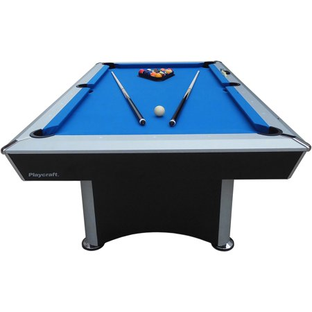 Playcraft 7 Sprint Pool Table With Electric Blue Cloth