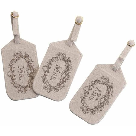 Mr. Mrs. More Mrs. Luggage Tags
