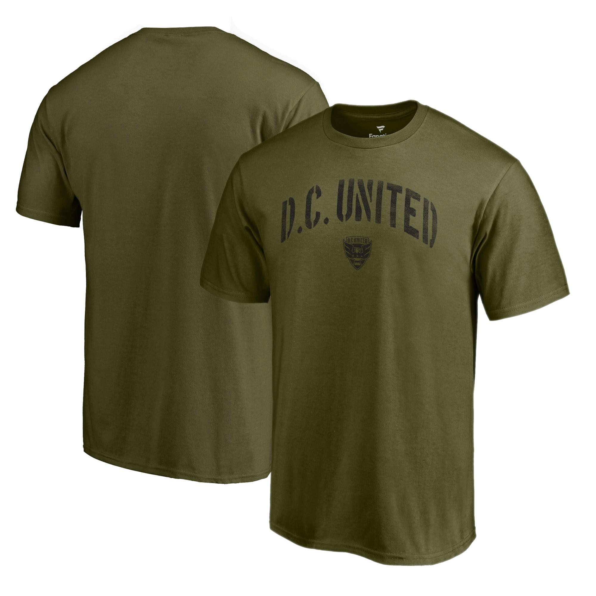 D.C. United Fanatics Branded Camo Collection Jungle T-Shirt - Green