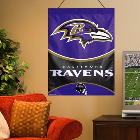 """Baltimore Ravens WinCraft 27"""" x 37"""" Primary Vertical Banner Flag - No Size"""